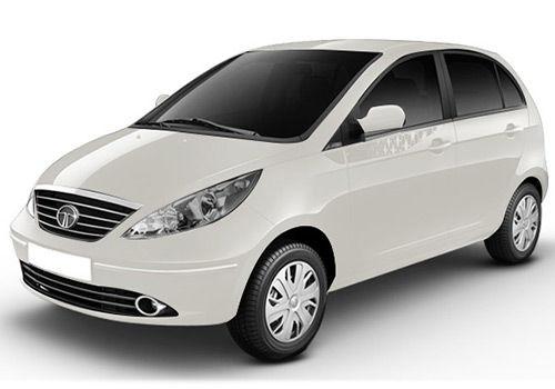 Tata Indica Vista Dew White Color