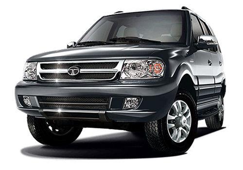 Tata New Safari Quartz Black Color