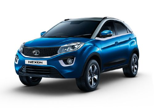 Tata Nexon Moroccan Blue Color