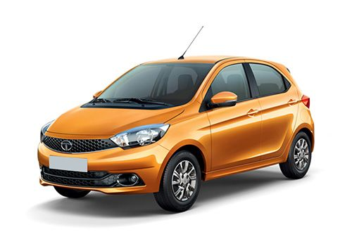 Tata Tiago Sunburst Orange Color