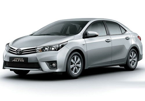 Toyota Corolla Altis 2010-2013 Silver Mica Metallic Color