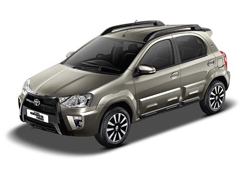 Toyota Etios Cross Quartz Brown