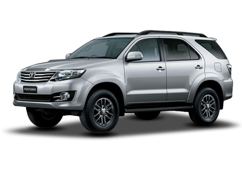 Toyota Fortuner 2011-2016 Pearl White Color
