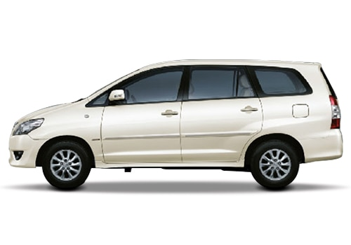 Toyota Innova 2012-2013 White Color