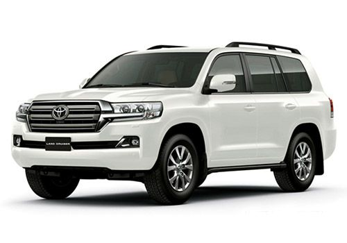 Toyota Land Cruiser White Pearl Color