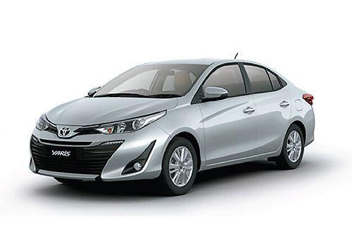 Toyota Yaris Silver Metallic Color