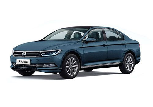 Volkswagen Passat Atlantic Blue Color