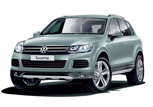 Volkswagen Touareg Cool silver Metallic Color