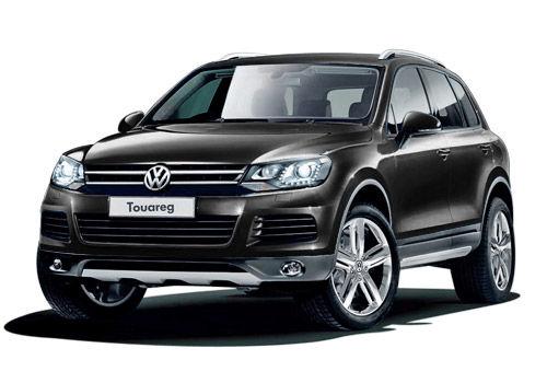 Volkswagen Touareg Deep black Color