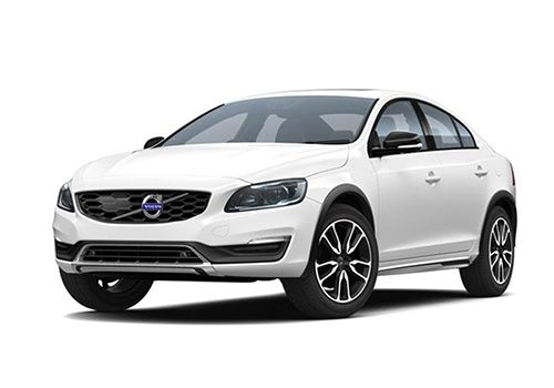 Volvo S60 Cross Country Crystal White Pearl Metallic Color