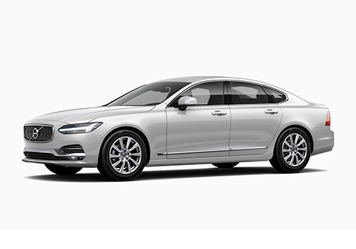 Volvo S90 Crystal White Pearl Metallic Color