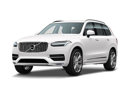 Volvo XC 90 Ice White Metallic Color