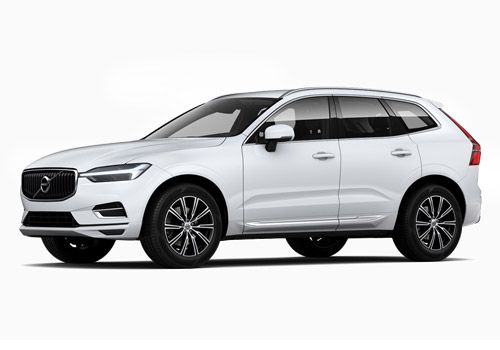 Volvo XC60 Crystal White Pearl Metallic Color