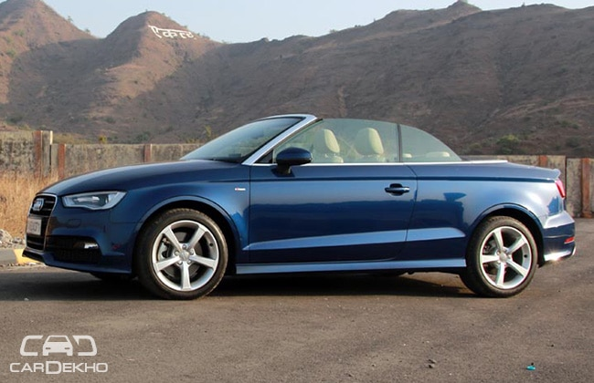 Audi A3 cabriolet Road Test Images