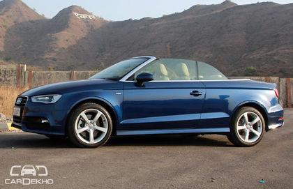 Audi A3 Cabriolet Expert Review Cardekhocom