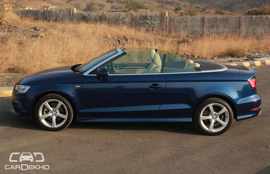 Audi A3 cabriolet Road Test Images
