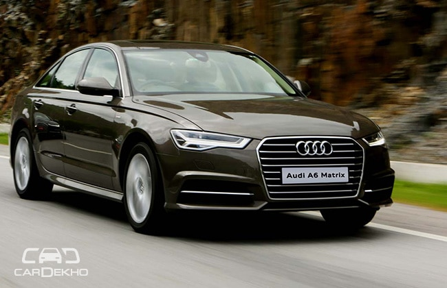 Audi A6 Road Test Images