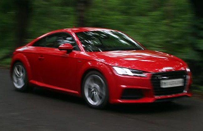 Audi TT Road Test Images