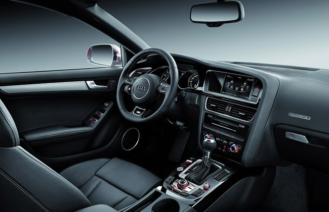 Audi S5 Sportsback interiors