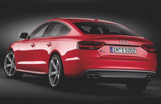 Audi S5 Sportsback rear