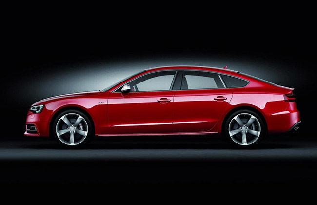 Audi S5 Sportsback side