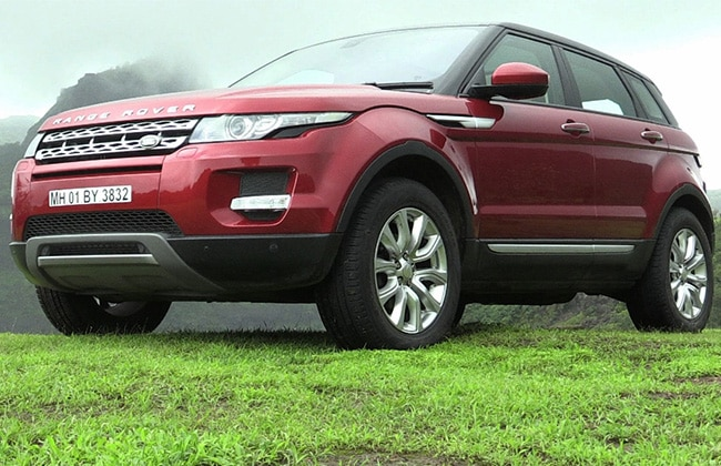 Land Rover Range Rover Evoque 2016-2020 Road Test Images