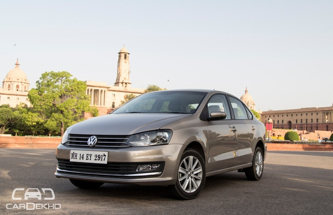 Volkswagen Vento Road Test Images