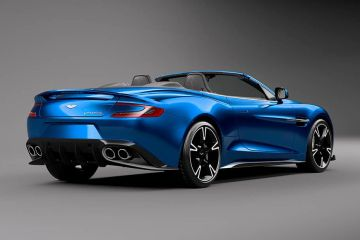 Aston Martin Vanquish Rear Right Side