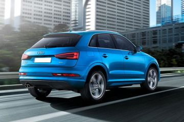 Audi Q3 Rear Right Side