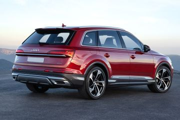 Audi Q7 2020 Rear Right Side