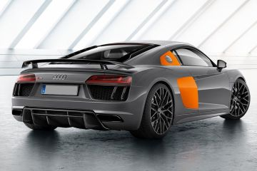 Audi R8 Rear Right Side