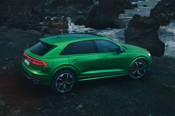 Audi RS Q8 Rear Right Side