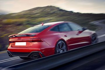 Audi RS7 Rear Right Side