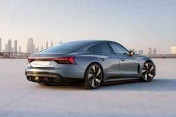 Audi e-tron GT Rear Right Side