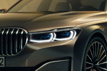 BMW 7 Series Headlight