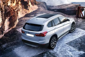 BMW X1 Rear Right Side