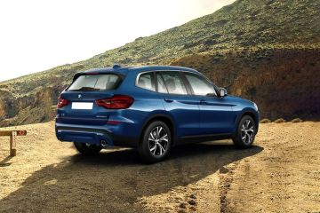 BMW X3 Rear Right Side