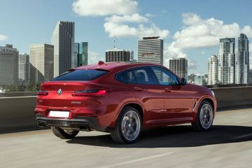BMW X4 Rear Right Side