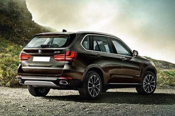 BMW X5 Rear Right Side