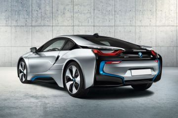 BMW i8 Rear Right Side