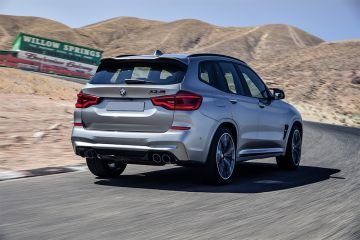 BMW X3 M Rear Right Side