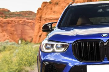 BMW X5 M Headlight