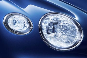 Bentley Continental Headlight