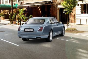 Bentley Mulsanne Rear Right Side