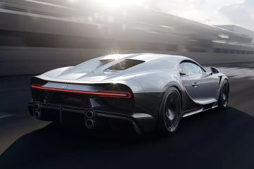 Bugatti Chiron Rear Right Side