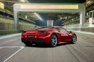 Ferrari 488 Rear Right Side