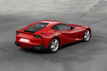 Ferrari 812 Superfast Rear Right Side