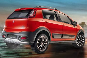 Fiat Avventura Urban Cross Rear Right Side