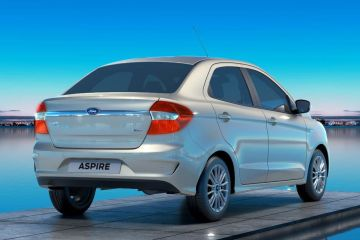 Ford Aspire Rear Right Side