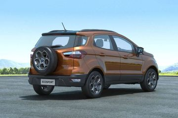 Ford EcoSport Rear Right Side